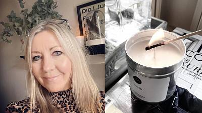 Meet the former British Airways hostess who turned her career around to become a vegan candle maker