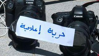 صحافيون فلسطينيون يناشدون الأمم المتحدة توفير حماية شخصية ومهنية لهم