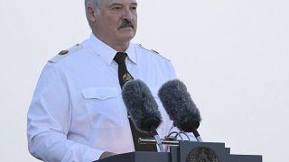 Belarusian President Alexander Lukashenko on June 22, 2021.