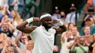 Wimbledon milestone victory for Sierra Leone-descended Frances Tiafoe