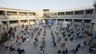 Από την εκδήλωση για την παρουσίαση του νέου σχολείου