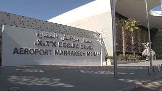 مطار مراكش في المغرب