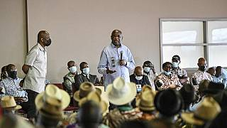 Gbagbo accuses ICC of being biased during visit to native village