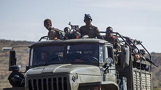 L'esercito del governo centrale etiope