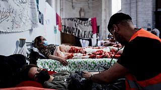 Мигранты проводят в Бельгии голодовку, чтобы избежать депортации