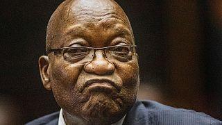 Jacob Zuma em outubro de 2019