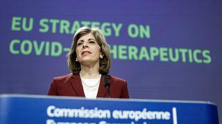 Η Επίτροπος Υγείας της ΕΕ, Στέλλα Κυριακίδου