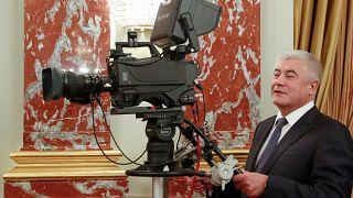 Владимир Колокольцев перед заседанием правительства 12 марта 2020