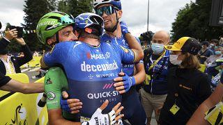 Tour de France : victoire d'étape pour le revenant Mark Cavendish