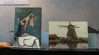 Greece Stolen Paintings