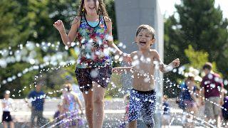 Abrasadoras temperaturas en el oeste de Canadá