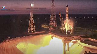 Rusia envía suministros a la ISS