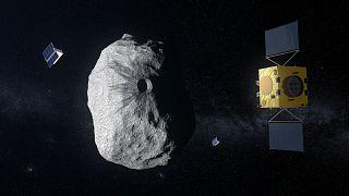 Avrupa Uzay Ajansı'nın (ESA) HERA misyonu, NASA'nın DART misyonunu kontrol edecek ve DART'ının bir asteroidi ne kadar uzağa taşımayı başardığını izleyecek