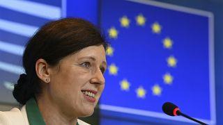Vera Jourova, az Európai Bizottság alelnöke