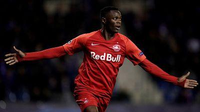 Football: Zambian Patson Daka leaves Salzburg for Leicester