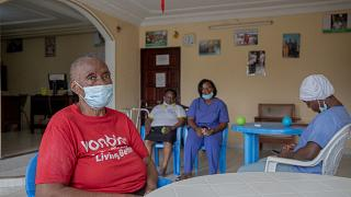 Cameroon's untended elderly find solace in retirement home