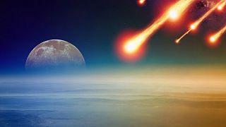 برخورد احتمالی سیارکها با کره زمین (عکس تزئینی است)