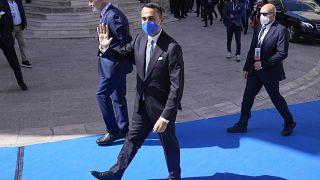 Der Gastgeber, der italienische Außenminister Luigi Di Maio in Matera am Dienstag