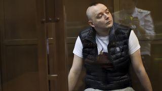 Иван Сафронов на слушаниях 30 июня 2021