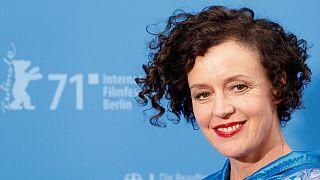 Maria Schrader na apresentação do filme na Berlinale