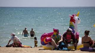 Fotografía de una playa de Mallorca
