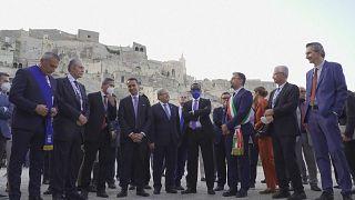 G20 visit Matera