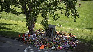 Kanada'da çocuk mezarı anıtı/Arşiv