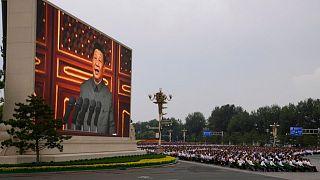 مراسم صدسالگی حزب کمونیست چین