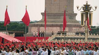 Chinas Kommunisten feiern Geburtstag - und vor allem sich selbst