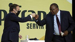Le président kényan Uhuru Kenyatta à Paris pour rencontrer Emmanuel Macron
