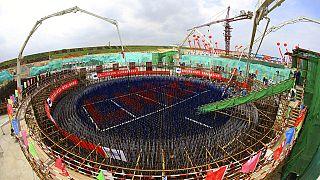 Çin'de nükleer başlıklı füze silosu şantiyesi