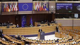 Az EP egyik plenáris ülése