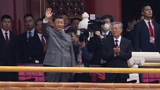 Çin Devlet Başkanı Şi Cinping, ÇKP'nin kuruluşunun 100. yıldönümü kutlamaları kapsamında Tiananmen Meydanı'na bir balkon konuşması yaptı