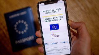 Le certificat COVID numérique européen, version anglaise/française