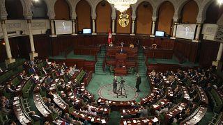 البرلمان التونسي خلال جلسة انعقاد. 2017/10/30