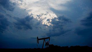 تاسیسات استخراج نفت در اوکلاهاما؛ آمریکا
