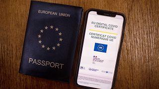 Le certificat Covid européen version française