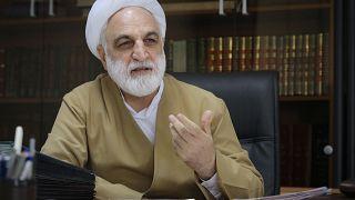 وزير الأمن السابق غلام حسين محسني إجئي في طهران. 2015/02/25