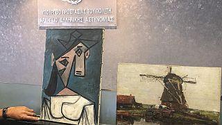 Yunanistan'da 2012'de çalınan tablolar