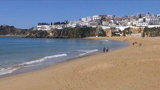 Una playa del sur de Europa