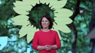 Germany's Green Party co-chairwoman Annalena Baerbock is their pick for chancellor