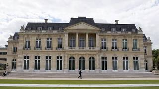In this June 7, 2017 file photo, the Organisation for Economic Co-operation and Development (OECD) headquarters is pictured in Paris, France.