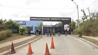 Cárcel en la que están los opositores presos en Nicaragua