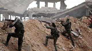 Suriye'de hükümet güçleriyle muhalifler arasındaki çatışmalar