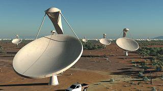 طرحنگاری از شبکه رادیو تلسکوپی در دست احداث