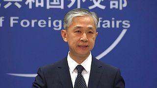 وانگ ونبین، سخنگوی وزارت امور خارجه چین