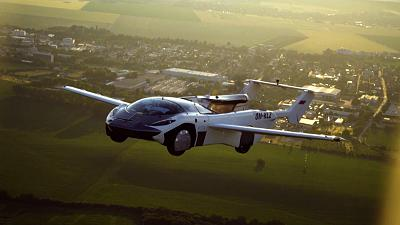 Klein Vision's AirCar performed a 35 minute inter-city flight earlier this week.