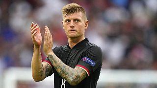 Nationalspieler Toni Kroos nach der 2:0 Niederlage gegen England im Achtelfinalspiel der Fußball-EM in Wembley, 29.06.2021
