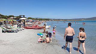 Egy átlagos szardíniai strand