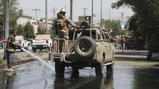 Американские солдаты в Кабуле